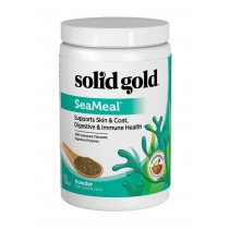 Solid Gold Sea Meal Omega Powder with Flax Supplement 1LB