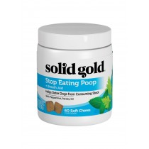 Solid Gold Stop Eating Poop Soft Chews Dog Supplement 3.2oz