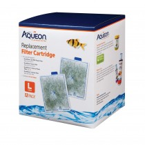 Aqueon Replacement Filter Cartridges 12pk