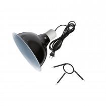 Zilla Black Reflector Dome Lamp