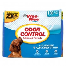 Four Paws Wee-Wee Odor Control Pads 100ct