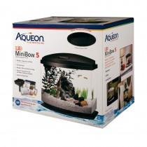 Aqueon MiniBow LED Aquarium Kit 5g - Black