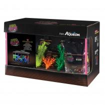 Aqueon NeoGlow LED Aquarium Kit 10g - Neon Orange