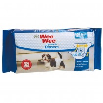 Four Paws Wee-Wee Disposable Diapers 12pk - Small