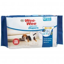 Four Paws Wee-Wee Disposable Diapers 12pk - Large