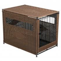 """PetSafe Solvit Indoor Pet Home Medium Brown 30"""" x 21"""" x 24"""""""