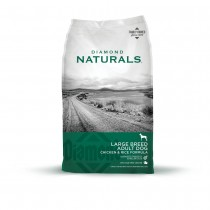 Diamond Naturals Large Breed Chicken & Rice Dry Dog Food 40LB