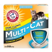 Arm & Hammer Multi-Cat Strength Unscented Clay Clumping Cat Litter