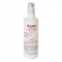 """Wahl Clini Clip Cleaner and Disinfectant 8 ounces 3701 - White 6"""" x 2"""" x 2"""""""
