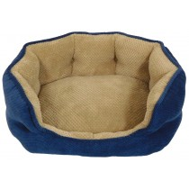 Arlee OrthoCozy Hudson Navy Dog Bed