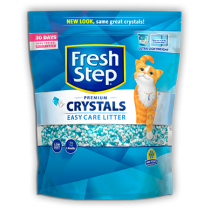 Fresh Step Crystals Non-Clumping Cat Litter 4LB