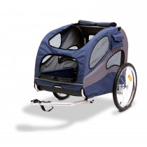 "PetSafe Solvit HoundAbout II Bicycle Trailer Large Blue 55"" x 33"" x 33"""