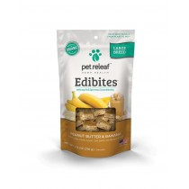 PET RELEAF EDIBITE LARGE BREED PEANUT BUTTER BANANA 7.5oz