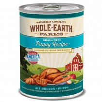 Merrick Whole Earth Farms Puppy Cans 12.7 oz Case of 12