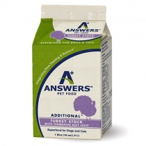 Answers Additional Turkey Stock with Fermented Beet Juice Pint 16oz