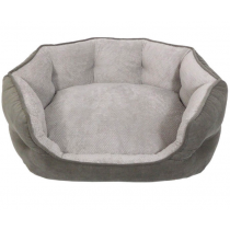 Arlee OrthoCozy Hudson Grey Dog Bed