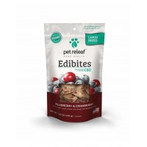 PET RELEAF EDIBITE LARGE BREED  BLUEBERRY CRANBERRY 7.5oz