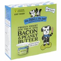 Bear And The Rat Bacon & Peanut Butter Frozen Yogurt Dog Treat 4pk