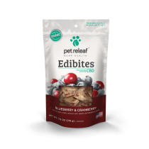 PET RELEAF EDIBITE BLUEBERRY CRANBERRY 7.5oz