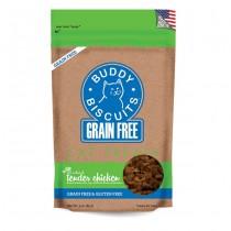 CloudStar Buddy Biscuits Tender Chicken Grain-Free Cat Treats 3oz