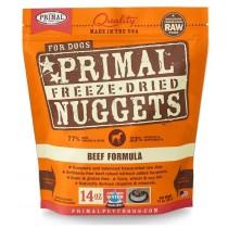 Primal Beef Freeze-Dried Raw Dog Food 14oz