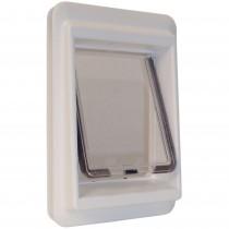 """Ideal Pet Products e-Cat Electromagnetic Cat Door Medium White 4.25"""" x 9.25"""" x 14.56"""""""