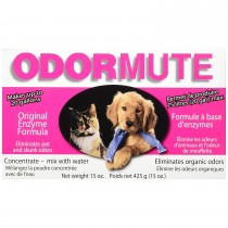 "Hueter Toledo Odormute Powder Odor Eliminator Unscented 15 ounces 7"" x 4"" x 2"""