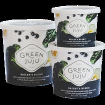 Green Juju Bailey's Blend Frozen Dog Food Topper
