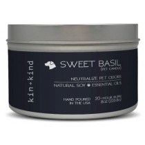 KIN+KIND PET CANDLE SWEET BASIL 8oz