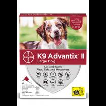 K9 Advantix II Large Dog Flea, Tick & Mosquito Treatment