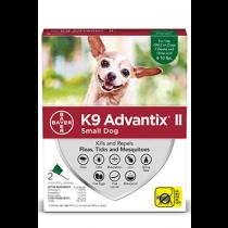 K9 Advantix II Small Dog Flea, Tick & Mosquito Treatment