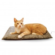 "K&H Pet Products Amazin' Thermo-Kitty Pad Gray 15"" x 20"" x 2"" - KH3295"