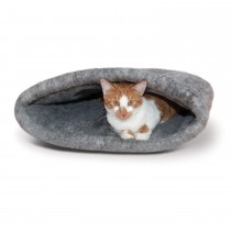 "K&H Pet Products Amazin' Kitty Sack Gray 22"" x 20"" x 20"""