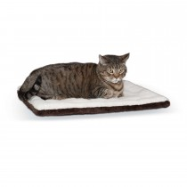 "K&H Pet Products Self-warming Pet Pad Oatmeal/Chocolate 21"" x 17"" x 1"""