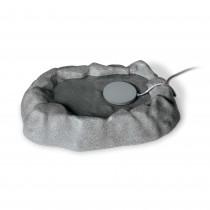 K&H Pet Products Thermo-Birdbath 1 gallon Gray 17'' x 23.5'' x 4''