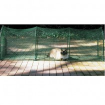 Kittywalk Deck and Patio Outdoor Cat Enclosure - Large