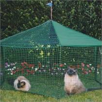 Kittywalk Gazebo Yard and Garden Outdoor Cat Enclosure