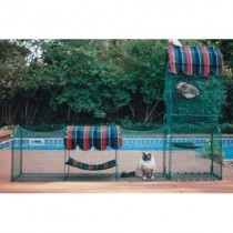 Kittywalk Town andctry Collection Outdoor Cat Enclosure
