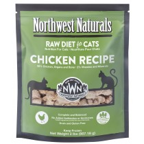Northwest Naturals Chicken Frozen Raw Cat Food 2LB