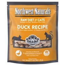 Northwest Naturals Duck Frozen Raw Cat Food 2LB