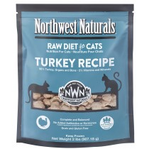 Northwest Naturals Turkey Frozen Raw Cat Food 2LB