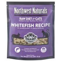 Northwest Naturals Whitefish Frozen Raw Cat Food 2LB