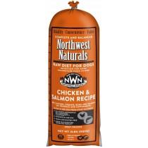 Northwest Naturals Chicken & Salmon Chub Frozen Raw Dog Food 5LB