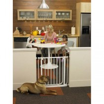 """North States Easy-Close Wall Mounted Gate 28"""" - 38.5"""" x 29"""" - NS4991S"""