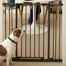 """North States Extra Tall Deluxe Easy-Close Pressure Mounted Gate With 2 Extensions 28"""" - 38.5"""" x 36"""" - NS4993S"""