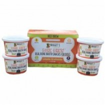 Nugget's Healthy Eats Frozen Beef Bone Broth for Cats & Dogs 4oz 4PK