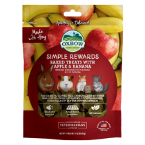 Oxbow Simple Rewards Apple & Banana Baked Treats 3oz