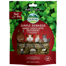 Oxbow Simple Rewards Peppermint Baked Treats 3oz