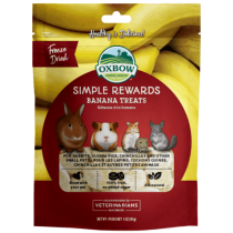 Oxbow Simple Rewards Banana Treats 1oz