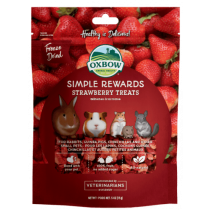 Oxbow Simple Rewards Strawberry Treats .5oz